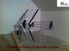 Installation dans les combles