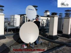 Installation Nilesat et Hotbird