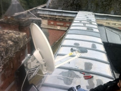 Installation Internet par satellite